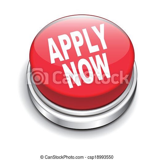 3d illustration of apply now button - csp18993550