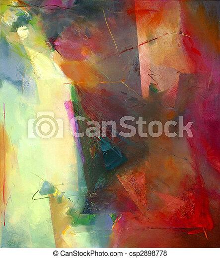 abstract art - csp2898778