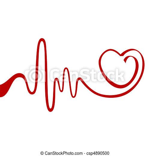 Abstract heart - csp4890500