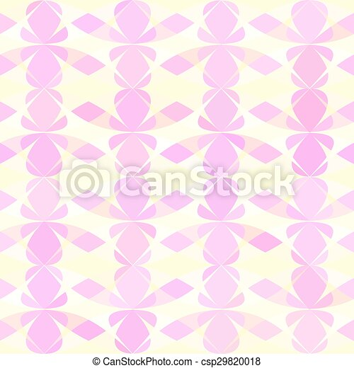 Abstract pattern. Seamless geometric wallpaper background. Vector illustration. - csp29820018
