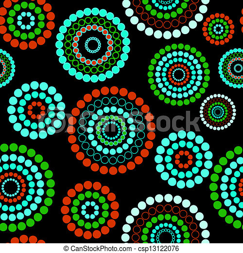 Abstract seamless background pattern. Vector illustration - csp13122076