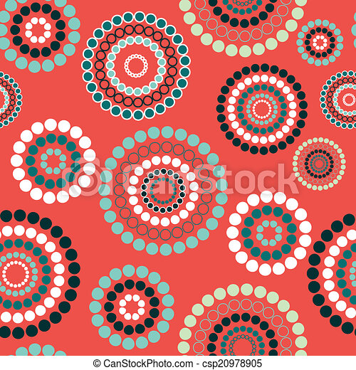 Abstract seamless background pattern. Vector illustration - csp20978905