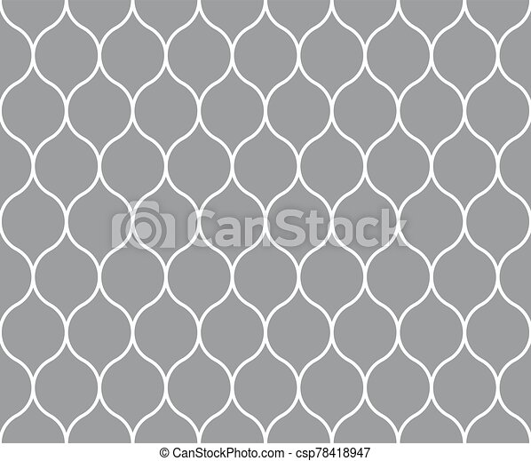 Abstract seamless wallpaper pattern background. Vector illustration. - csp78418947