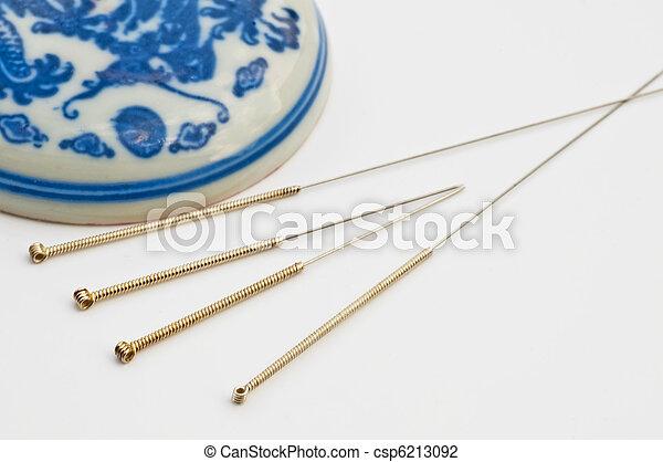 acupuncture needle - csp6213092
