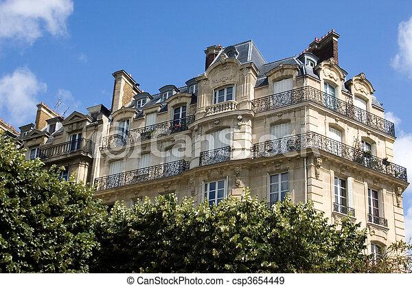 Apartment Building - csp3654449