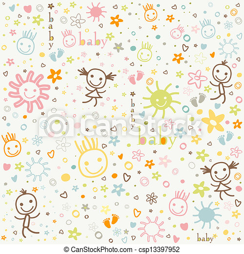 baby background - csp13397952