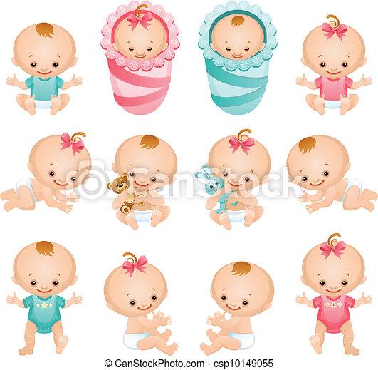 baby icons - csp10149055