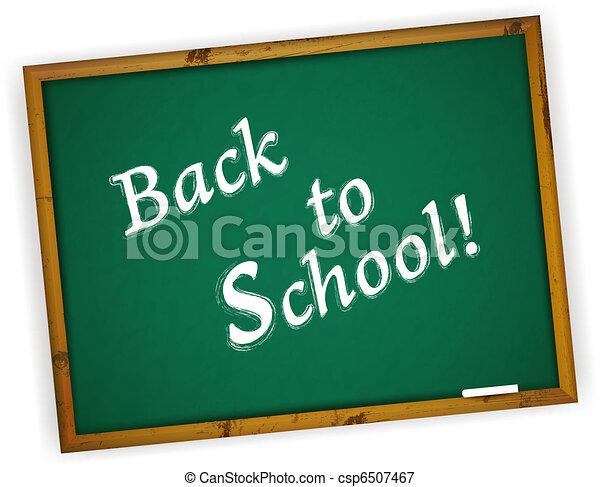 Back to School - csp6507467