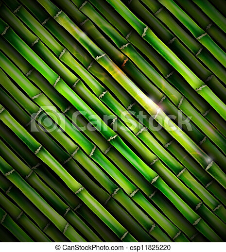 Background with bamboo - csp11825220