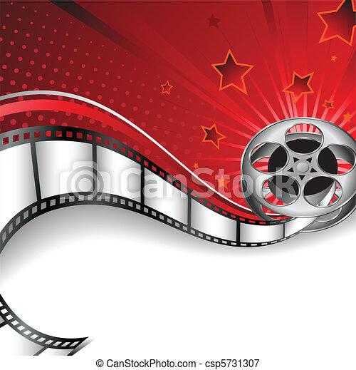 Background with Cinema Motives - csp5731307