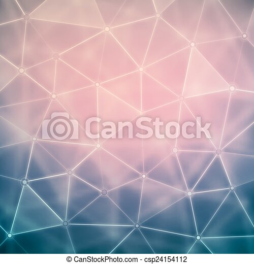 Background with Polygons - csp24154112