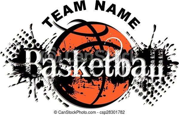 basketball design - csp28301782