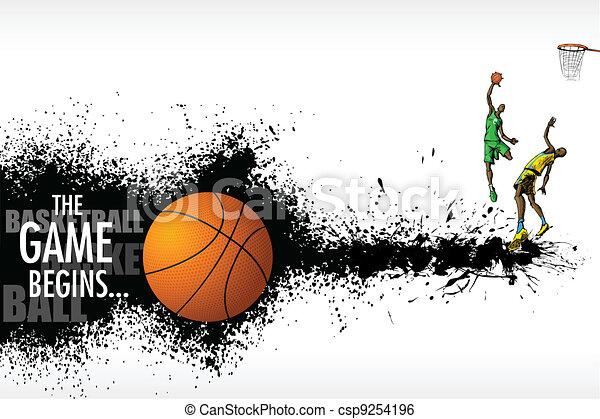 Basketball Match - csp9254196