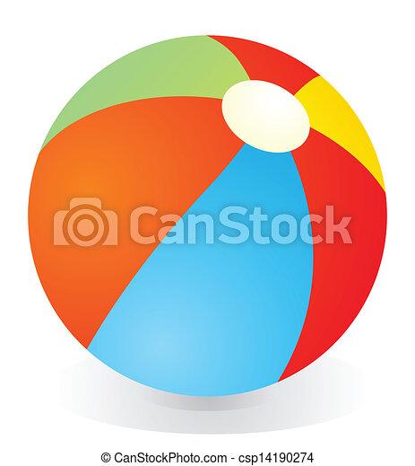 Beach ball - csp14190274