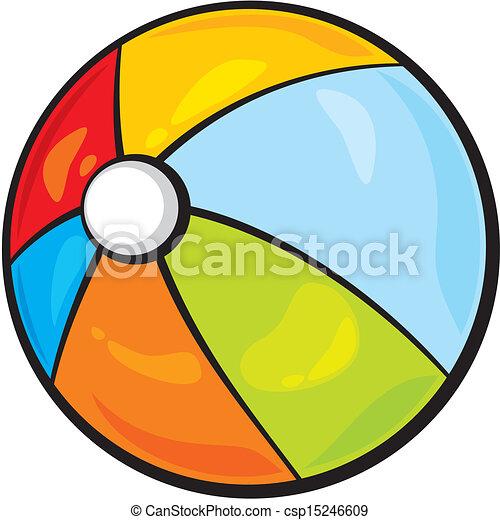 beach ball - csp15246609