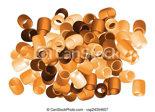 beads cut out - csp24354607