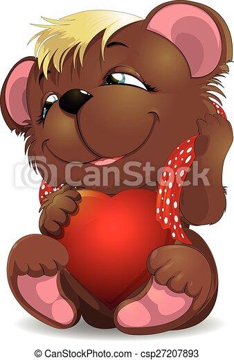 bear and heat - csp27207893