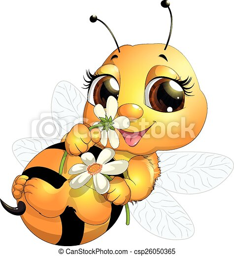 beautiful bee - csp26050365