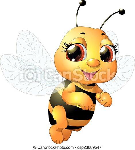beautiful bee - csp23889547