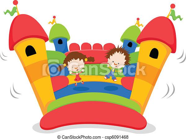 Bouncy Castle - csp6091468