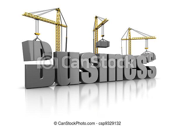 building business - csp9329132