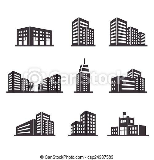 building icon - csp24337583
