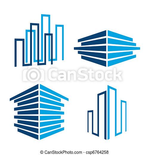 building icons - csp6764258