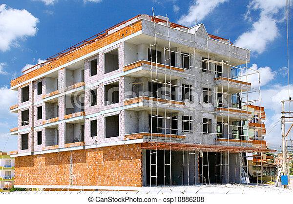 Building under construction - csp10886208