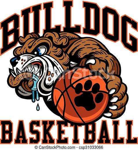 bulldog basketball - csp31033066