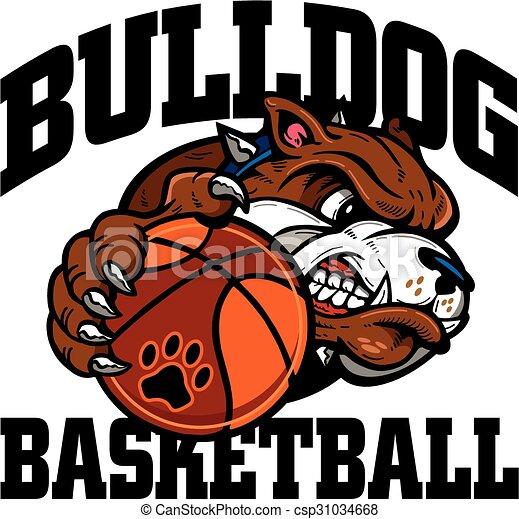 bulldog basketball - csp31034668