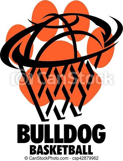 bulldog basketball - csp42879962