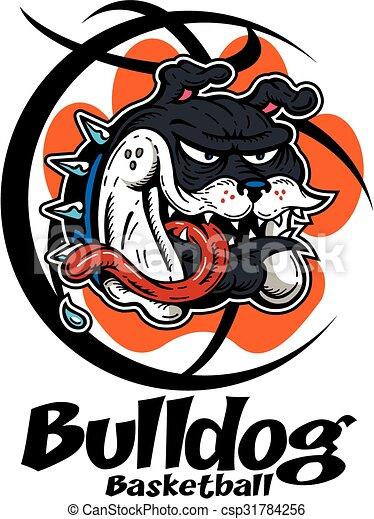 bulldog basketball - csp31784256