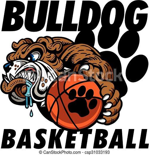 bulldog basketball - csp31033193