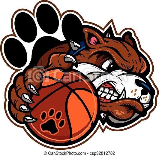 bulldog basketball - csp32812782