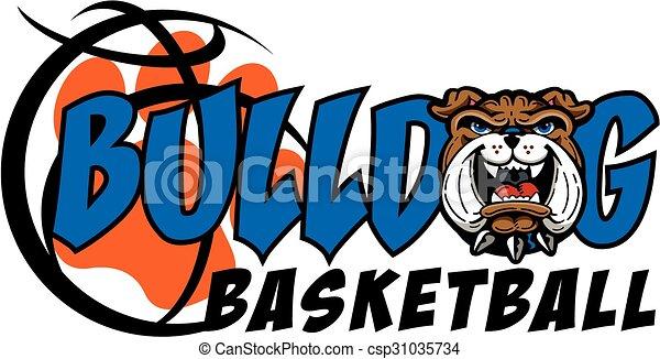 bulldog basketball - csp31035734