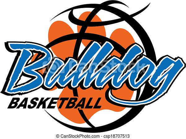 bulldog basketball - csp18707513