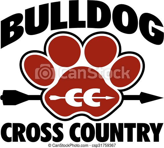 bulldog cross country - csp31759367