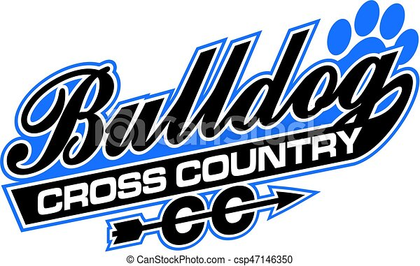 bulldog cross country - csp47146350