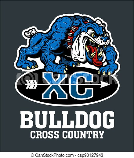 bulldog cross country - csp90127943