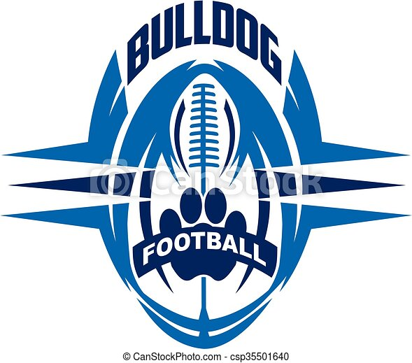 bulldog football - csp35501640