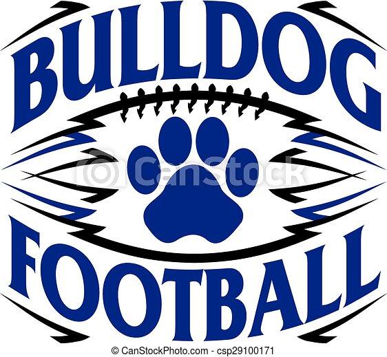 bulldog football - csp29100171