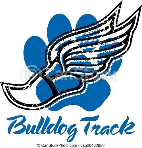 bulldog track - csp28482850
