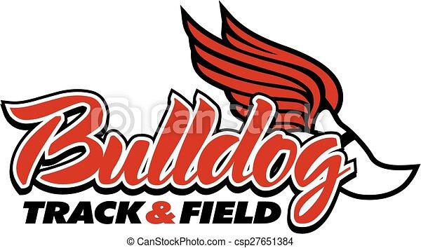 bulldog track & field - csp27651384