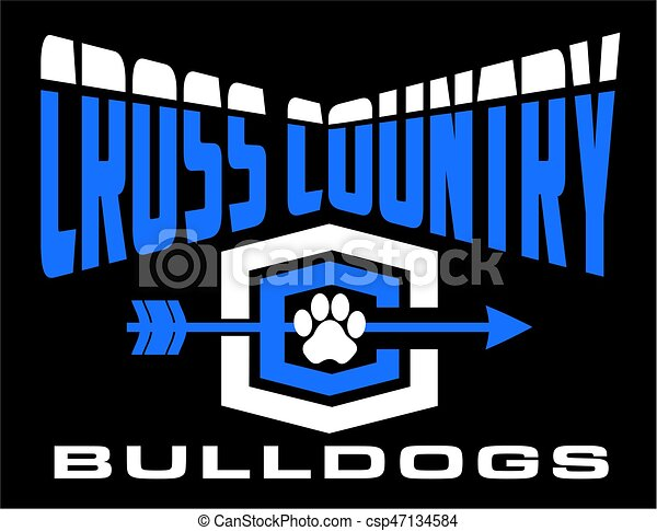 bulldogs cross country - csp47134584