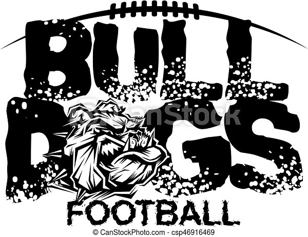 bulldogs football - csp46916469