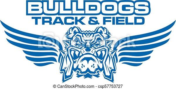 bulldogs track and field - csp57753727