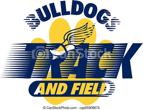 bulldogs track and field - csp55908674