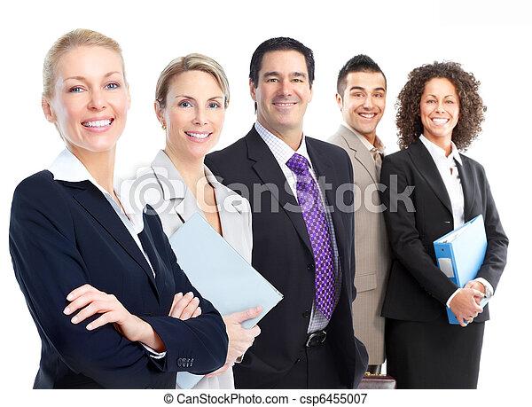 Business people team - csp6455007