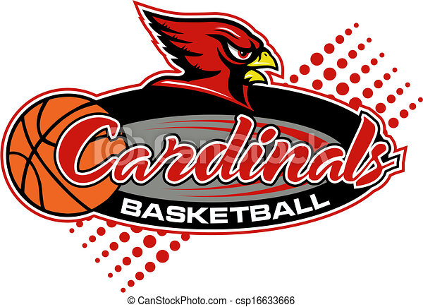 cardinals basketball design - csp16633666