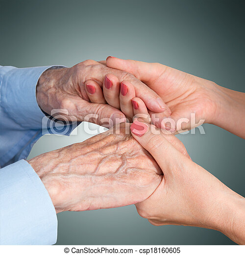 care is at home of elderly - csp18160605